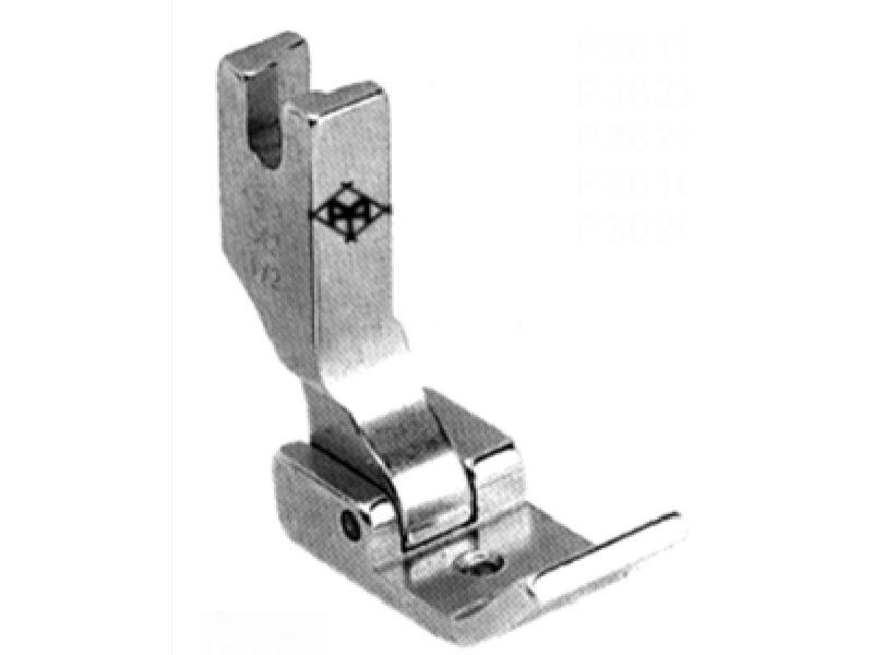 """Stopka P3613 (S542 1/2"""") do lamowników i zwijaczy szerokość od krawędzi 7 mm. Do stębnówki przemysłowej"""
