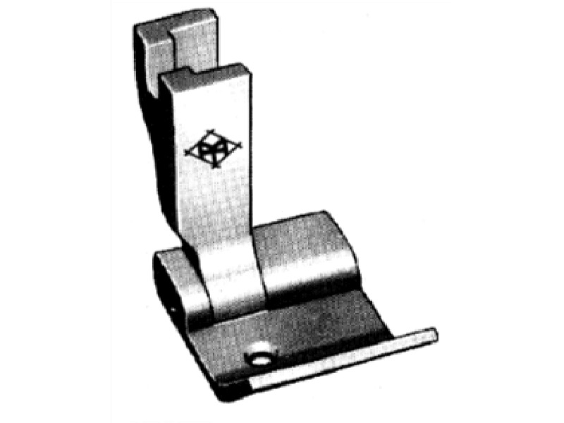 """Stopka P3619 (S542-3/4"""") do lamowników i zwijaczy szerokość od krawędzi 13 mm. Do stębnówki przemysłowej"""