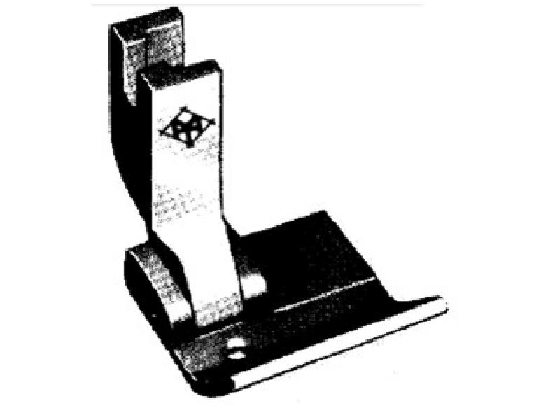 """Stopka P3625 (S542-1"""") do lamowników i zwijaczy szerokość od krawędzi 19 mm. Do stębnówki przemysłowej"""