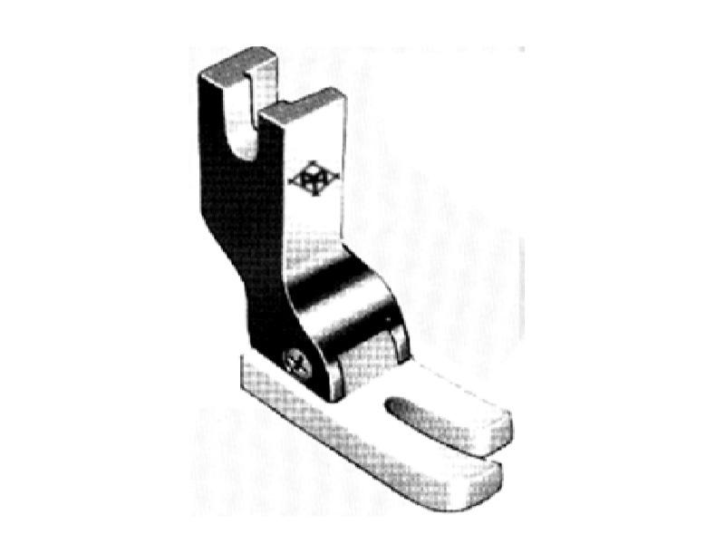 Stopka teflonowa T350 o szerokości 11 mm z jedną płozą krótszą do stębnówki