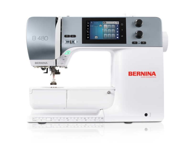 Nowość BERNINA B 480 - TOP Model Linii 4 Profesjonalnych maszyn klasy VJ93