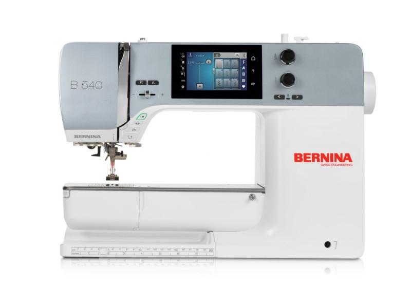 BERNINA B 540 - Profesjonalna komputerowa maszyna do szycia z możliwością podłączenia modułu haftującego
