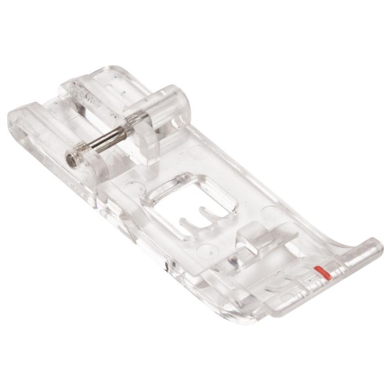 Stopka przeźroczysta (uniwersalna) do renderek i coverlocków BERNINA bernette FunLock b-42 i b-48