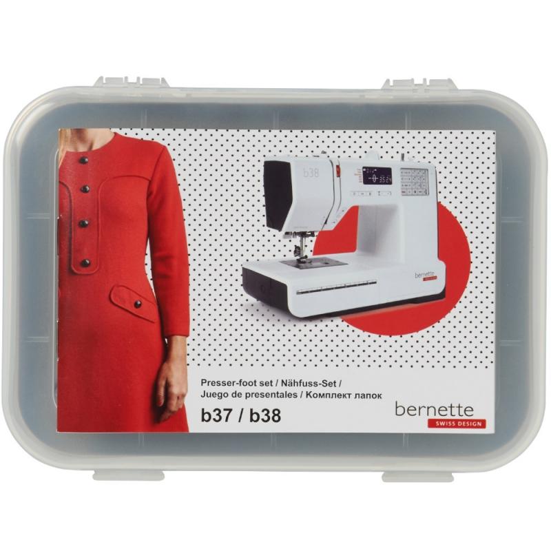 Zestaw 10 dodatkowych stopek do maszyny do szycia BERNINA bernette b37 i b38