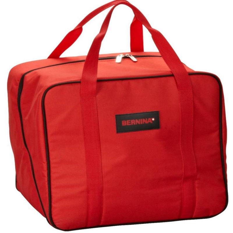 Oryginalna usztywniana torba (walizka) BERNINA RED BAG na maszynę do szycia. Do transportu i przechowywania.