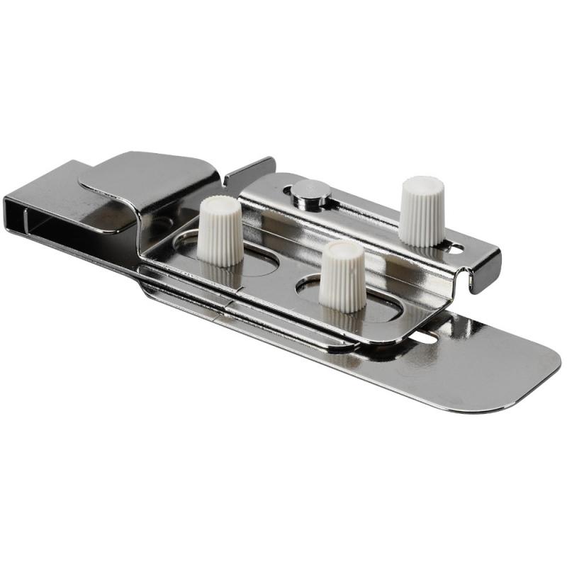 Prowadnik krawędziowy ze zwijaczem do wykańczania brzegów na renderce i coverlocku BERNINA