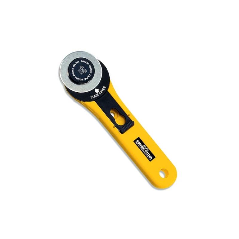 Nóż krążkowy 45mm OLFA RTY-2/G do patchworku, rozkroju, wykrojów i nie tylko