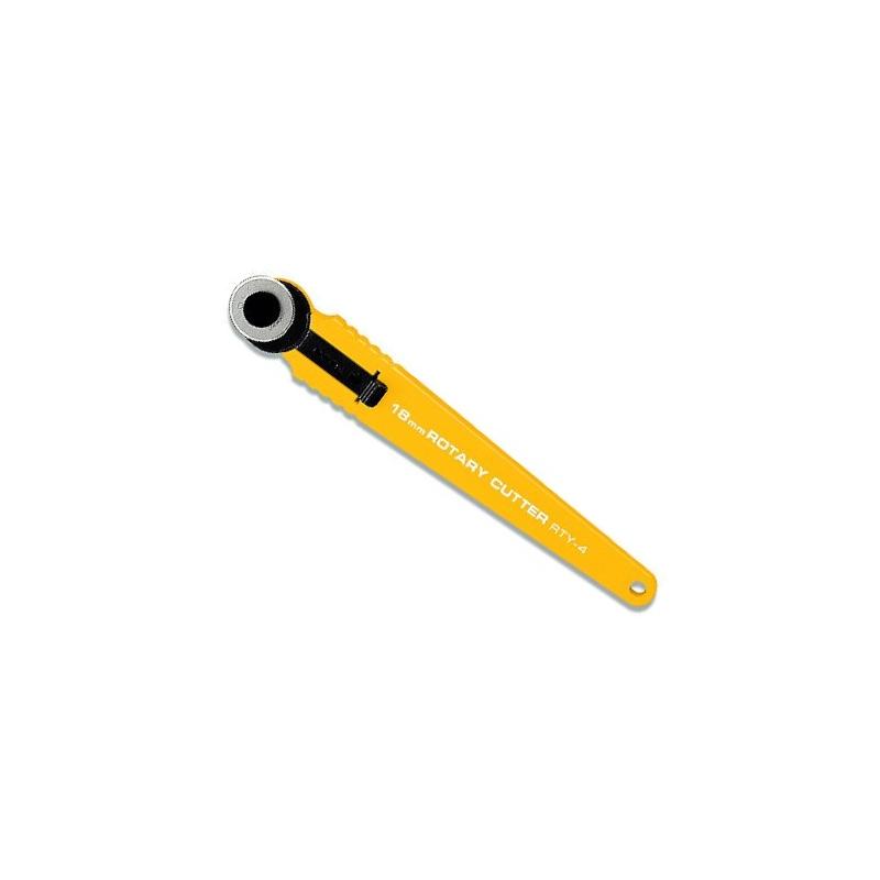 Nóż krążkowy 18mm OLFA RTY-4 do patchworku, rozkroju, wykrojów, małych elementów