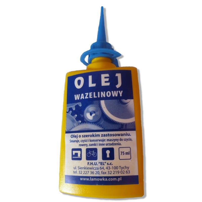 Olej wazelinowy oliwa do smarowania maszyn do szycia 75ml