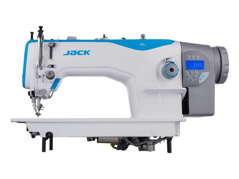 JACK JK H5-CZ-4 - Stębnówka automatyczna do ciężkiego szycia krocząca stopka