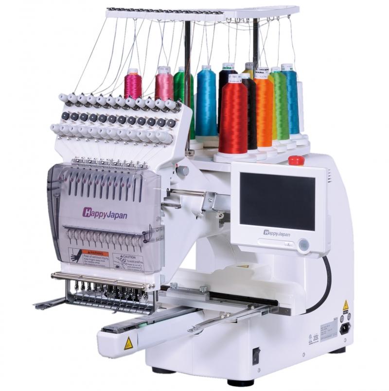 12-igłowa maszyna haftująca HAPPY HCS2 dla najbardziej wyagających