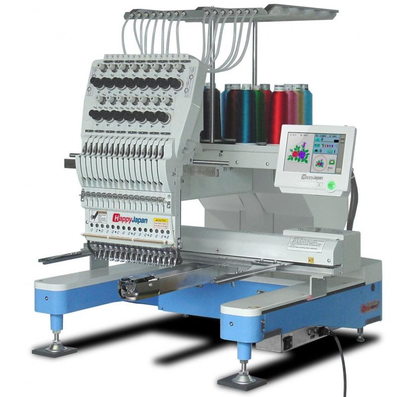 15-igłowa maszyna haftująca HAPPY HCD3E 1501-40. Niesamowicie solidna