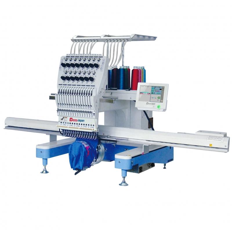 15-igłowa maszyna haftująca HAPPY HCD 3X z ramą do haftu o polu 120x40cm