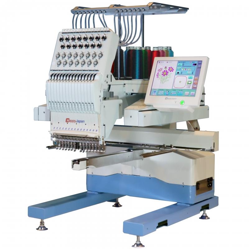 Najnowsza 15-igłowa przemysłowa hafciarka HAPPY HCU 1501-40 wersja rozwojowa HCD3