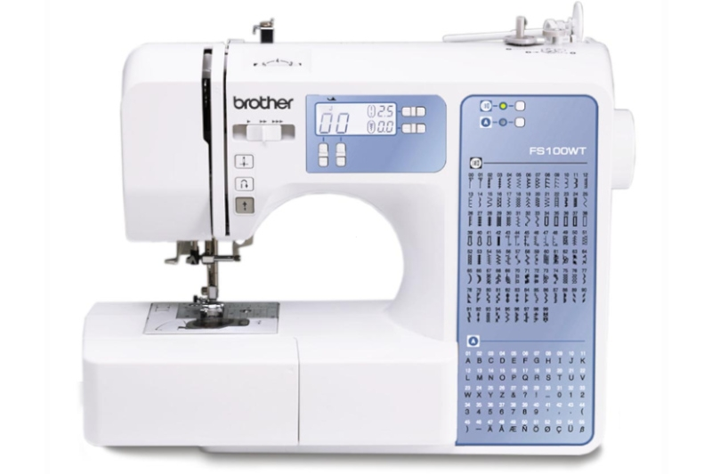 Rozbudowana komputerowa maszyna do szycia dla początkujących BROTHER Ltd. FS-100 WT