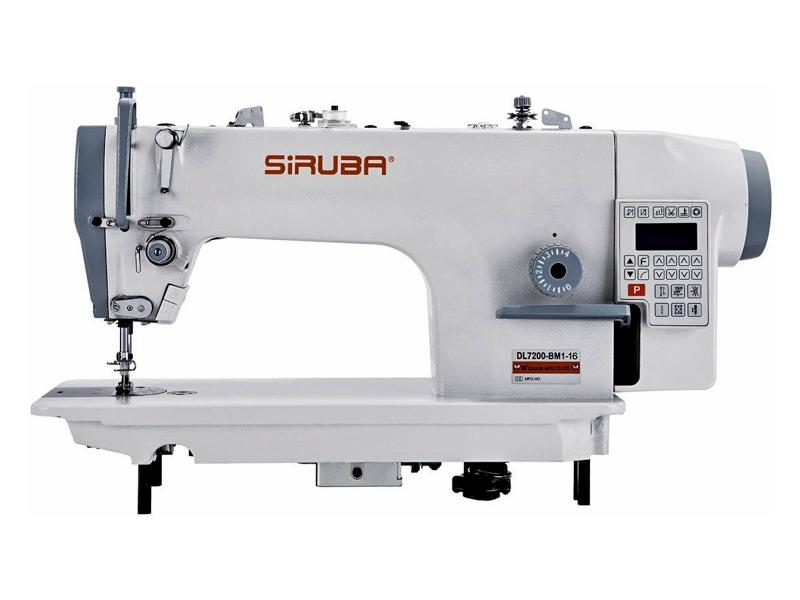 SIRUBA DL7200-BM1-16 - Stębnówka automatyczna przemysłowa maszyna do szycia automat