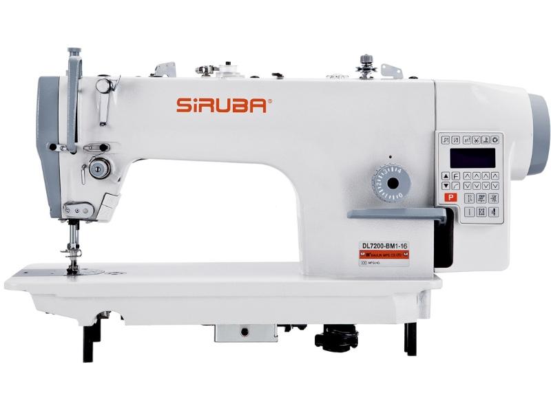 SIRUBA DL7200-BX2-16 Stębnówka automatyczna do ciężkiego szycia z dużymi chywtaczami