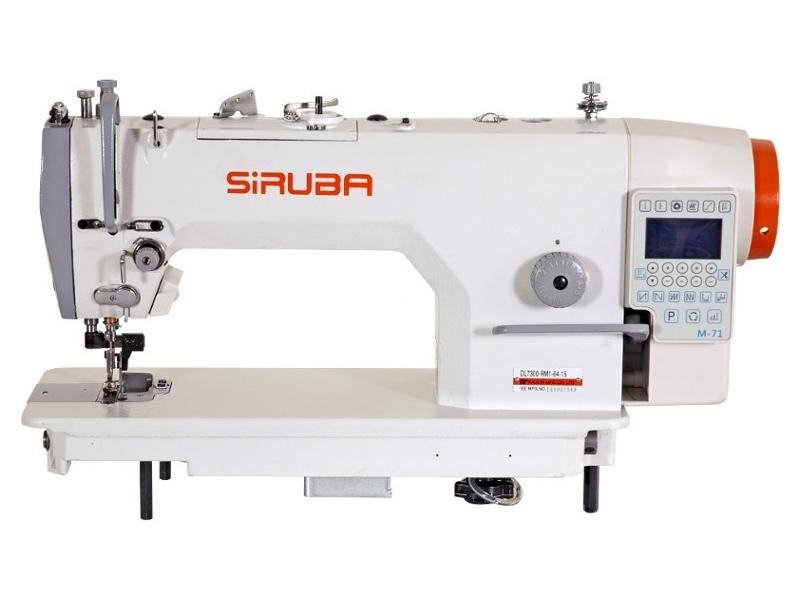 SIRUBA DL 7300-RM1-48-16 - Przemysłowa stębnówka automatyczna z odkrawaczem