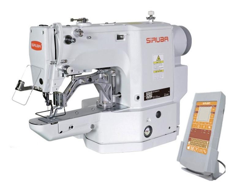 SIRUBA BT-430A 01 Ryglówka elektroniczna z programatorem do lekkich i średnich materiałów