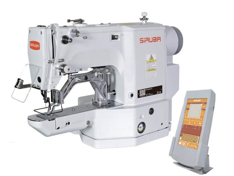 SIRUBA BT-438A - Programowalna guzikarka elektroniczna do płaskich guzików