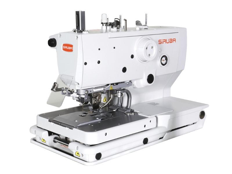 SIRUBA BH-9820 - Elektroniczna dziurkarka odzieżowa