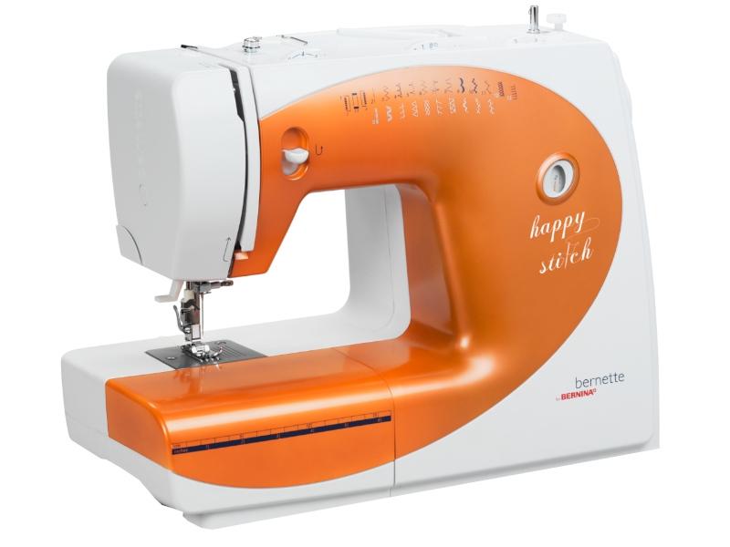 Legendarna mocna i solidna maszyna do szycia BERNINA Happy Stitch