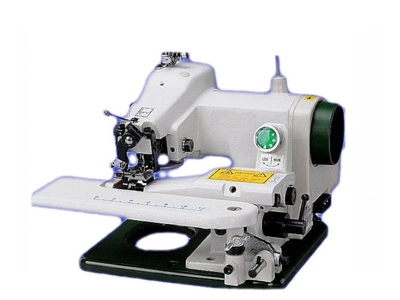 Podszywarka z krzywą igłą CM-500 do materiałów cienkich i srednich
