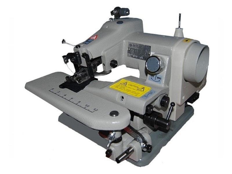 Podszywarka z krzywą igłą Highlead GL-13128-1 do podwijania nogawek i dołów