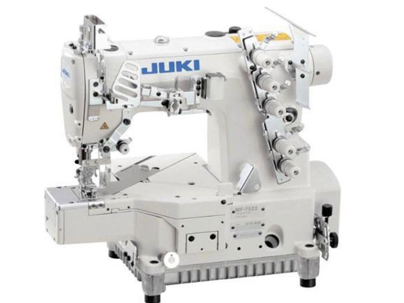 JUKI MF 7923 H23 B56(64)/UT57 - Automatyczna renderka cylindryczna do podwijania. Pneumatyczna