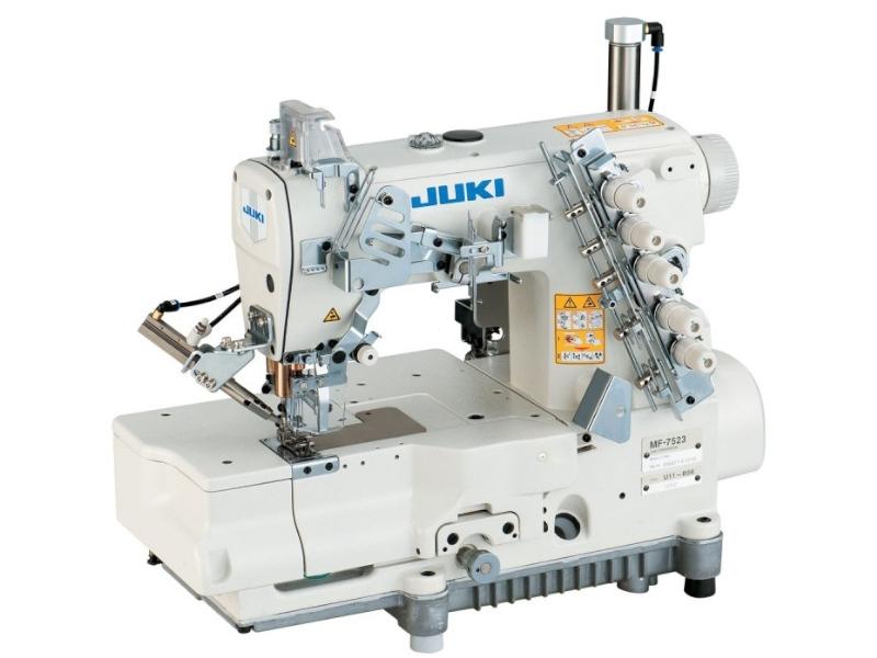 JUKI MF 7523 (MF7523-U11-UT35) - Automatyczna maszyna drabinkowa rednerka interlok kapówka elektromagnes