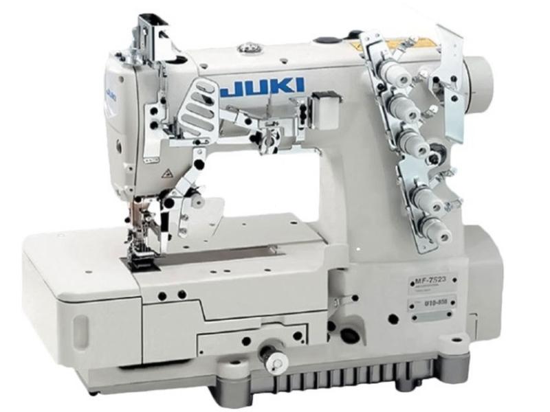 JUKI MF 7523 (MF7523-U11) Przemysłowa maszyna drabinkowa typu renderka interlok