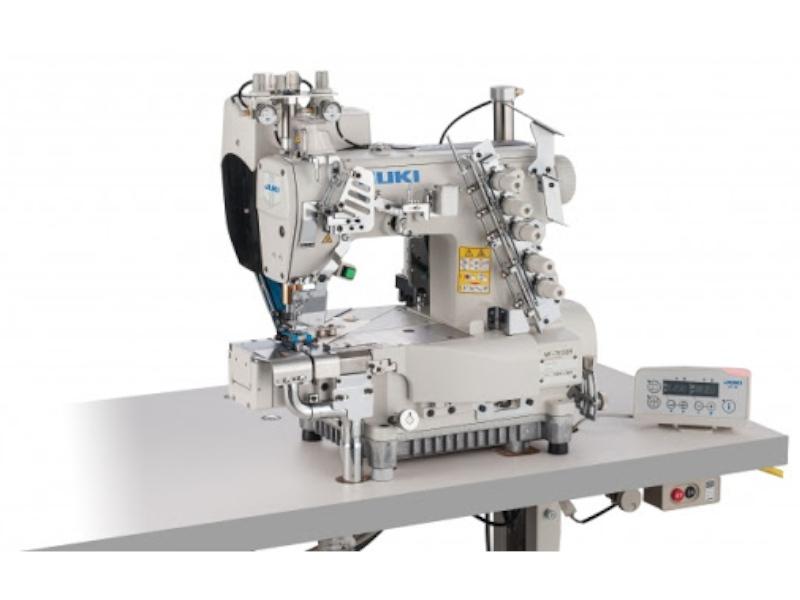 JUKI MF 7913 DRH24 Automatyczna renderka cylindryczna do podwijania z górnym transportem