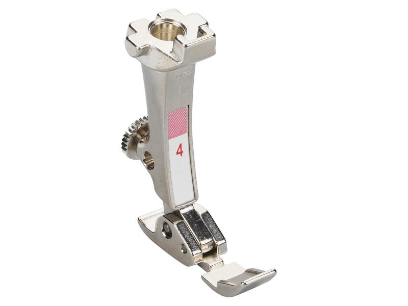 Stopka trzepieniowa do maszyn do szycia BERNINA Professional - #4 do wszywania zamka błyskawicznego