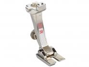 Stopka trzepieniowa do maszyn do szycia BERNINA Professional - #38 do tuneli, lamówek, naszywania różnych materiałów.
