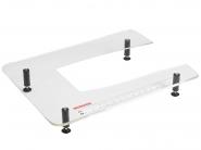 Stolik powiększający pole pracy do modułu haftującego hafciarek i multi-hafciarek BERNINA Professional.