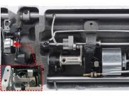 JACK A2 CHQ - Stębnówka przemysłowa z obcinaniem nici i pozycjonowaniem wersja H