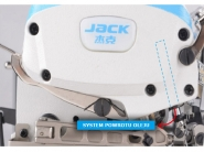 JACK JK E4-3 - Owerlok 3-nitkowy mereżka ścieg rolujacy