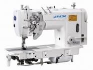 JACK JK 58750 - Stębnówka 2-igłowa z wył. igłami duże chwytacze