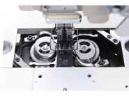 JACK JK 58750 D-403 - Automatyczna stębnówka 2-igłowa z wył. igłami duże chwytacze