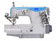 JACK JK W4 UT - Przemysłowa maszyna do szycia typu renderka z automatycznym cięciem nici