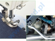 JUKI DLN 9010 A - Automatyczna stębnówka z podwójnym transportem