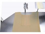 JACK JK T5878-58B - Automat szwalniczy do szycia plisy w koszulkach polo
