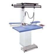 COMEL MP-A-S - podgrzewany prostokątny stół do prasowania z nadmuchem