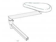 Podstawa prasulca do stołów COMEL serii MP/A i MP/F