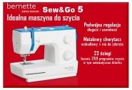 Maszyna do szycia dla każdego, nie tylko na prezent BERNINA AG SG-5