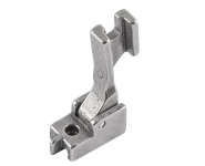 Specjalistyczna wąska stopka do wszywania błyskawicznych zamków krytych S-518 NS do stębnówek