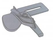 Lamownik A4 jednostronny symetryczny na zaprasowaną lamówkę składający na pół. Rozmiary 9.5 - 51mm