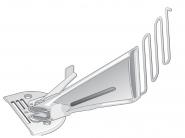 Lamownik A10 do stębnówki uniwersalny obustronnie podwijający. Komplet. Rozmiary 16-50mm