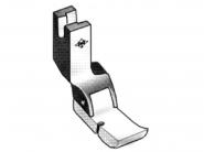 Półstopka teflonowa T36L krawędziowa LEWA np. do wszywania zamków. Do stębnówki