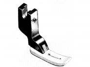 Wąska stopka teflonowa T363 do wszywania zamków (ekspresów) do stębnówki przemysłowej
